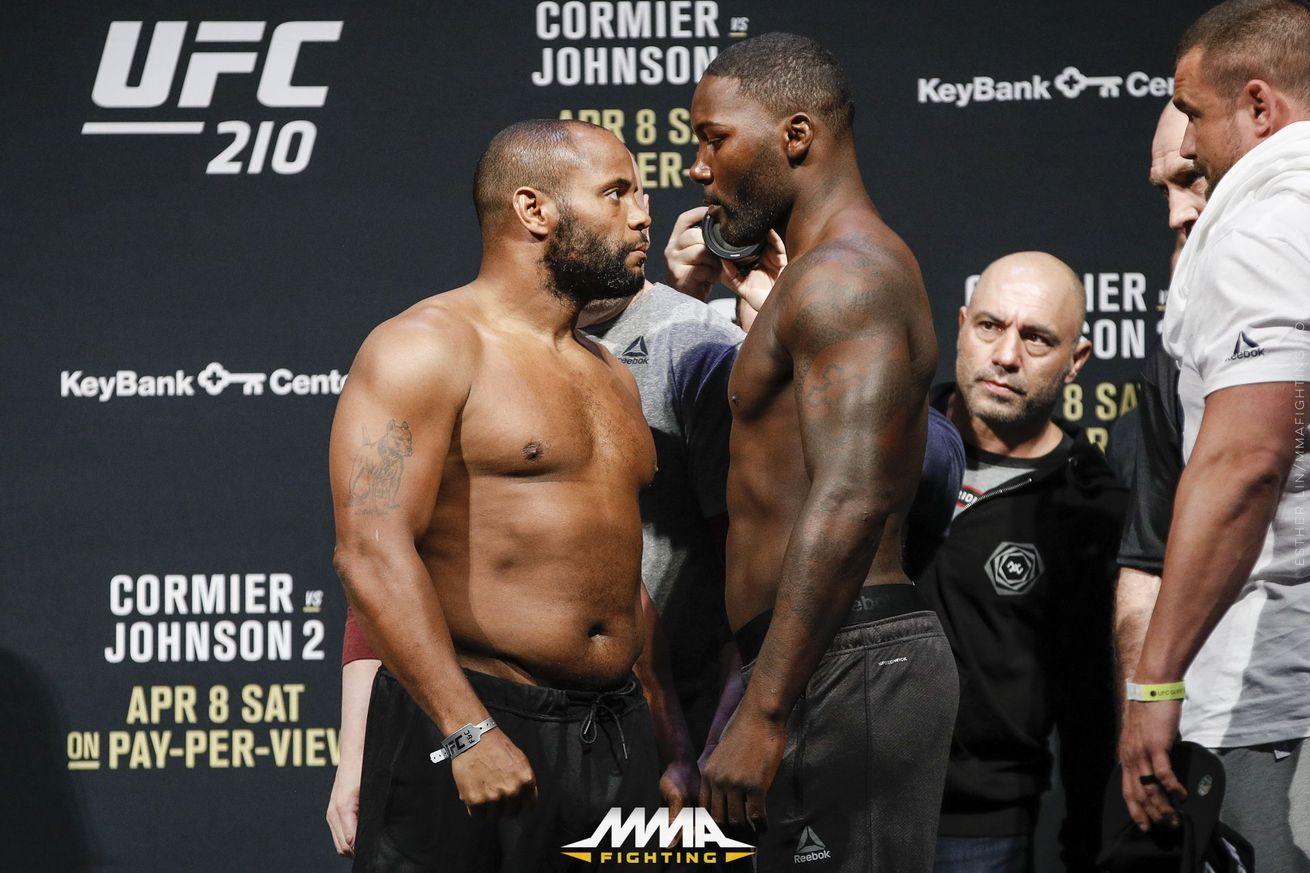 UFC 210 live blog: Daniel Cormier vs. Anthony Johnson 2