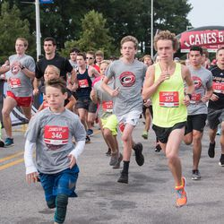 September 10, 2017. Canes 5k benefitting the Carolina Hurricanes Kids 'N Community Foundation, PNC Arena, Raleigh, NC