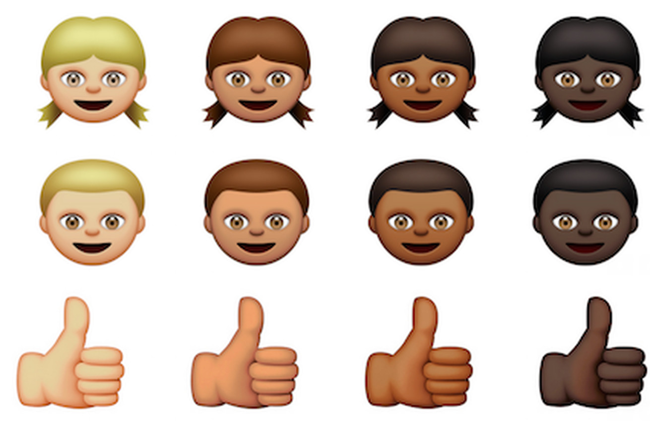 Lotus Notes Emoticons Apple39s New Multicultural Emoji Are Almost Here The Verge