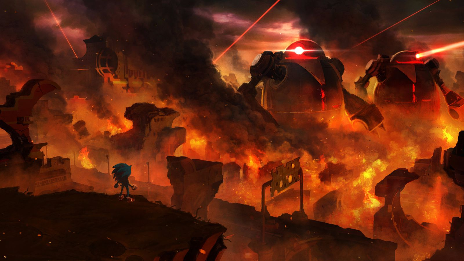 Sonic Forces' first gameplay looks like the 3D Sonic games you know