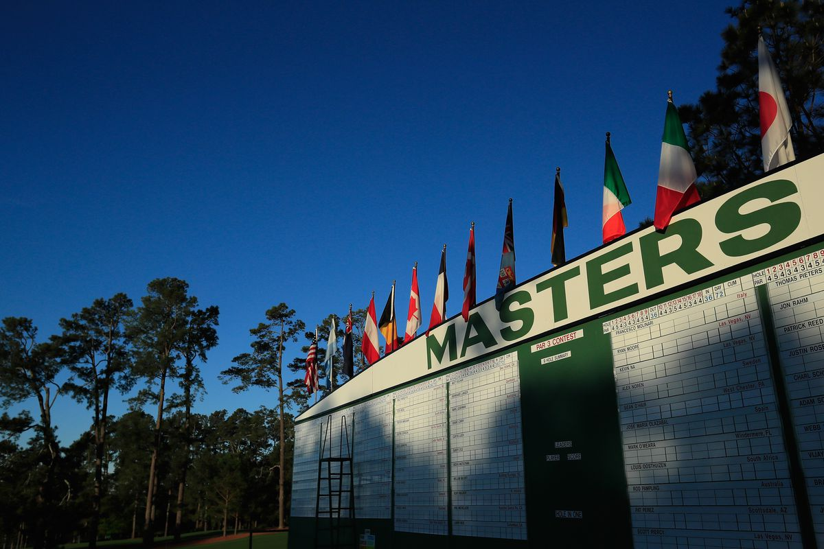 The Sunday before Masters Sunday is not so quiet