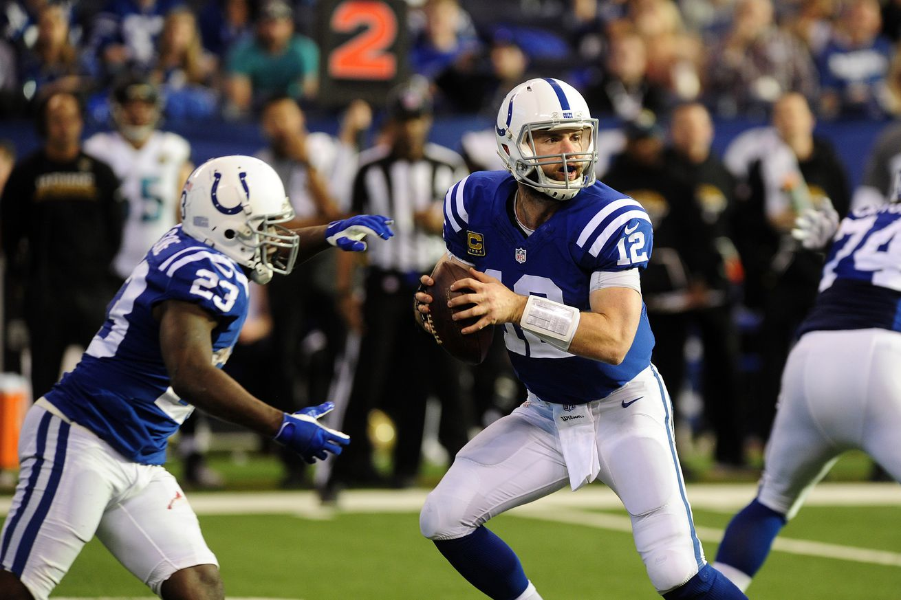 Andrew Luck recovering from shoulder surgery