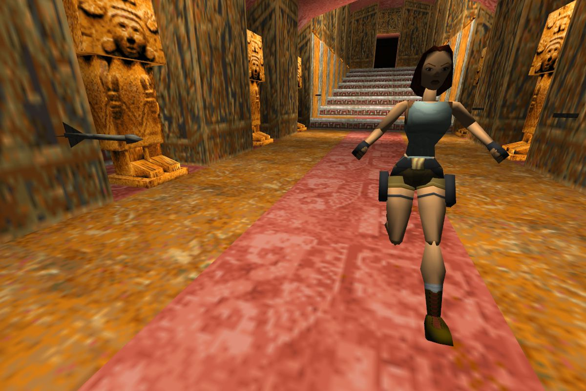 You can now play the original Tomb Raider in your browser
