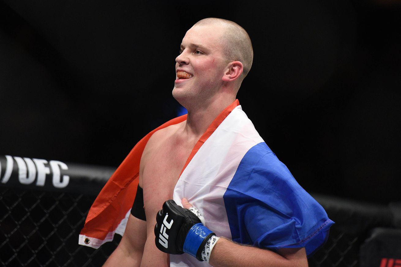 Stefan Struve balances joy of electrifying win, loss of teammate Jordan Parsons