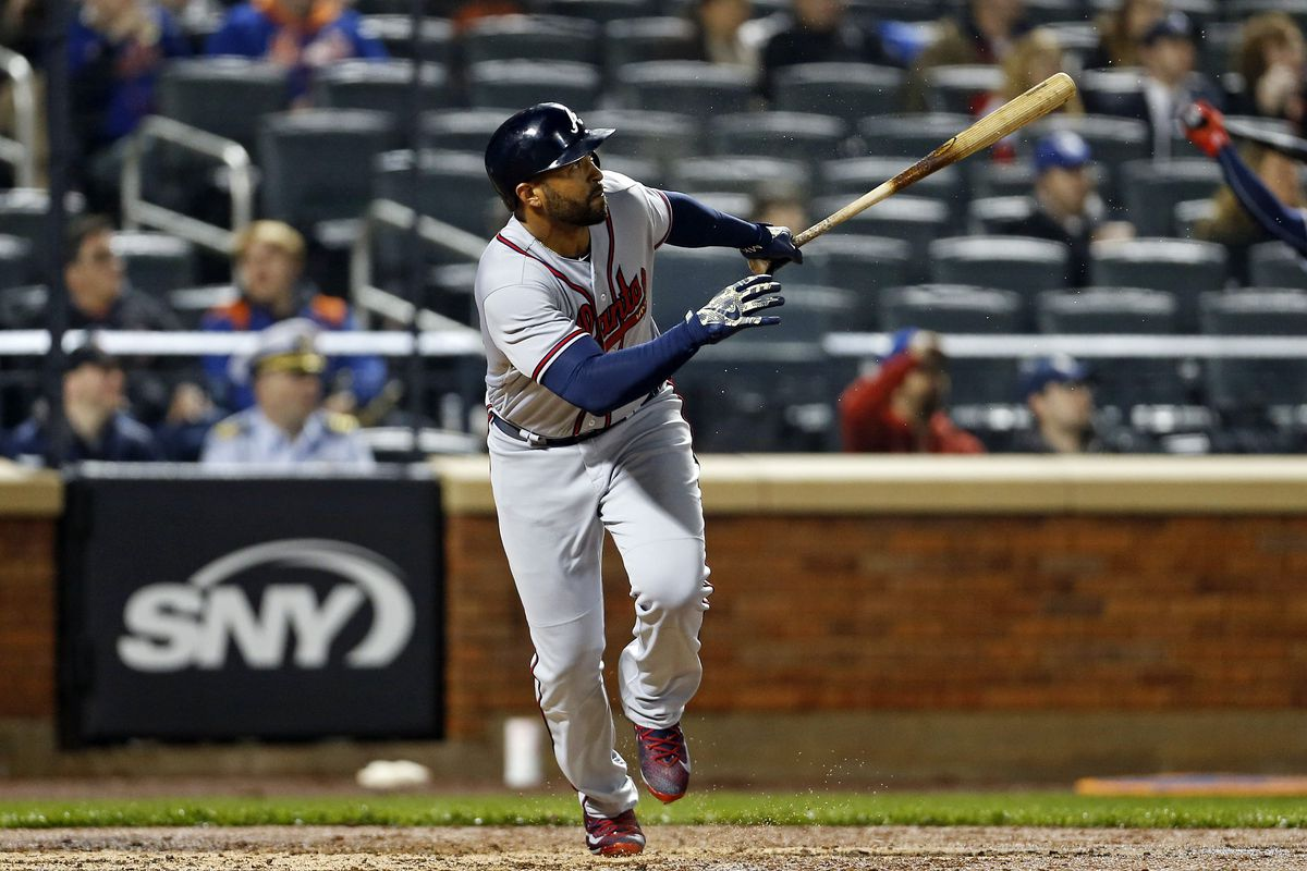 Colon sharp at old home, Kemp leads Braves over Mets in 12th