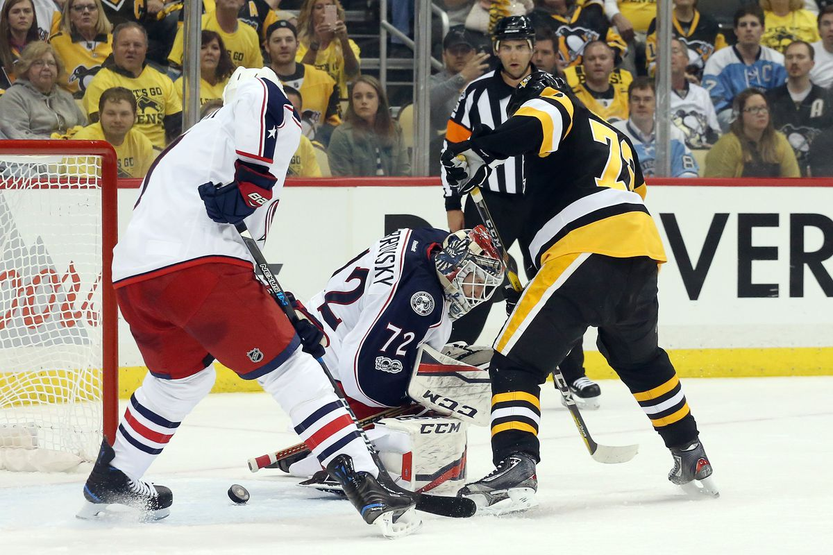 Penguins take 3-0 series advantage with OT win