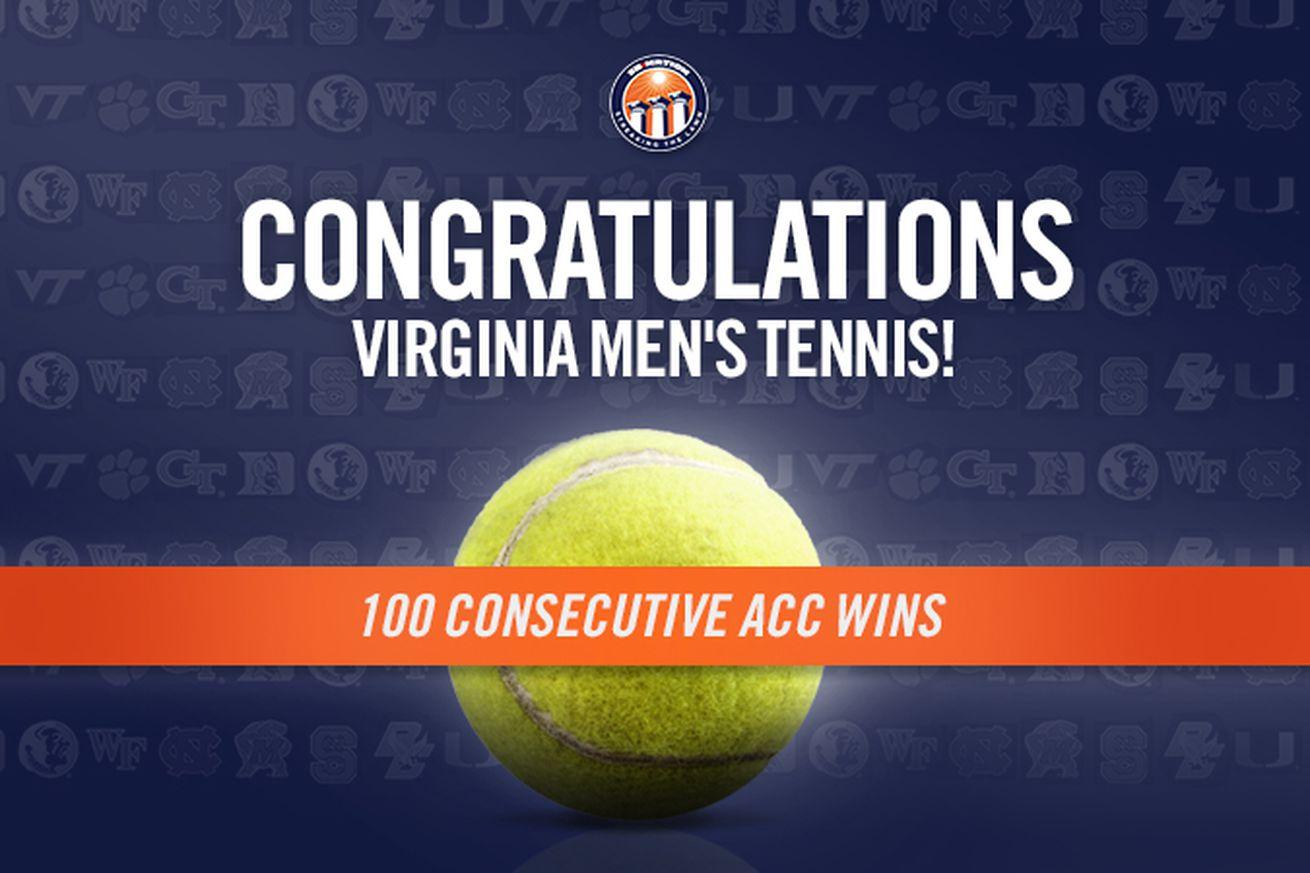 A Look Back at Virginia Tennis's 100-Match ACC Win Streak ...