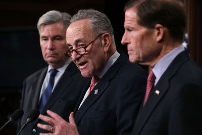 Schumer Calls On 'Dark Money' Group To Reveal Donors Supporting Gorsuch Nomination