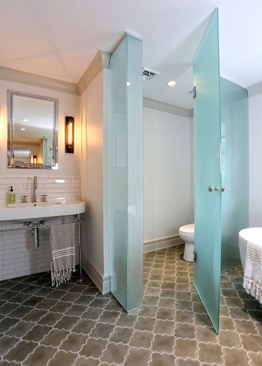 I agree with all of the above  bathroom pet peeves  but want to add my  favorite  the minuscule claustrophobic water closet that makes one small  room into. Toilet Room Within the Bathroom  The Ultimate Luxury or Just
