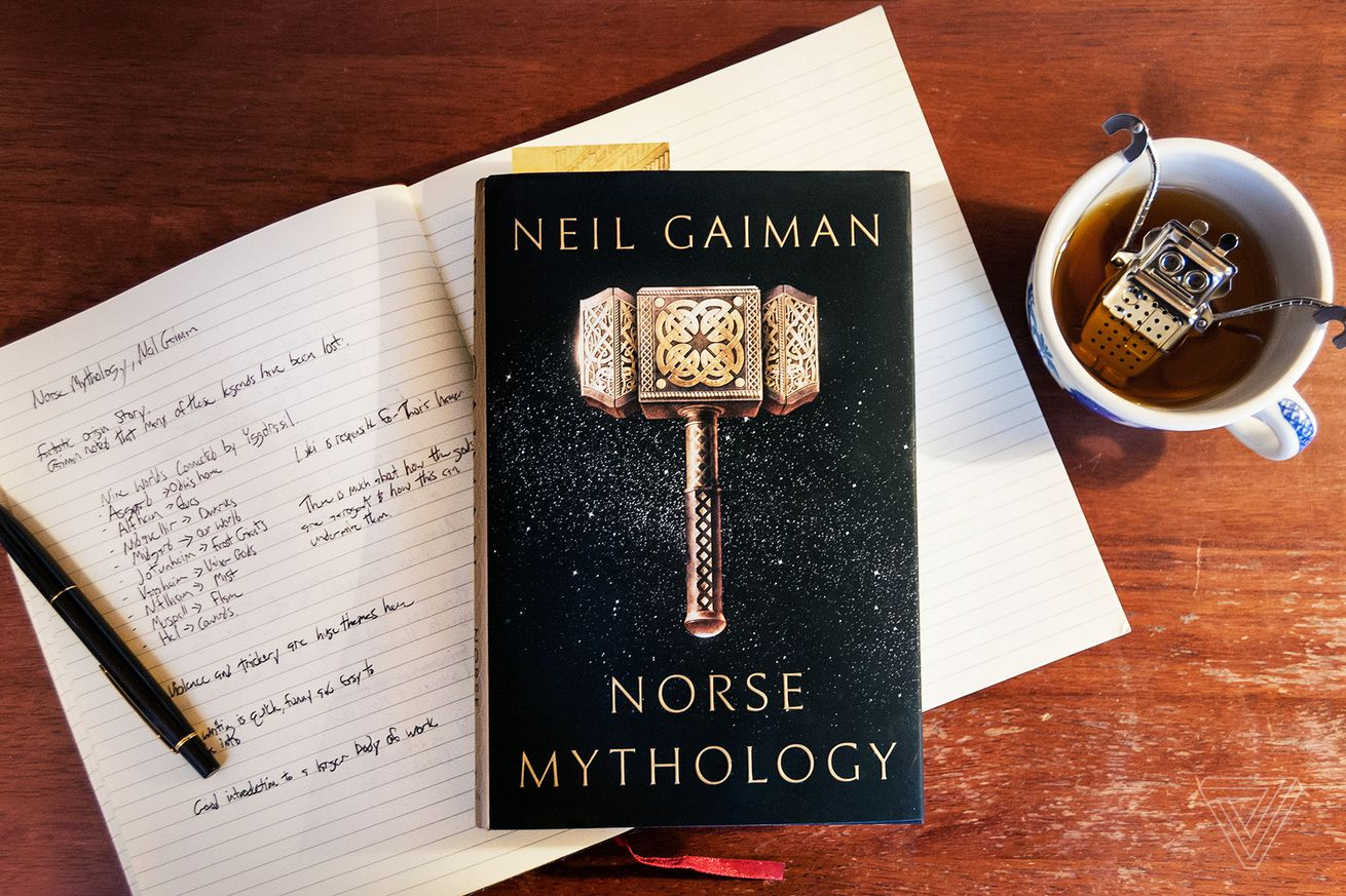 Thumbnail for Neil Gaiman's Norse Mythology goes beyond Marvel's Thor and Loki