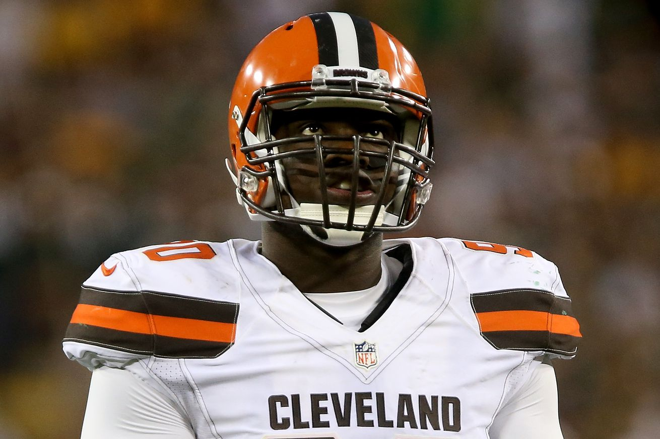 Browns suspend DB Williams for violating team rules