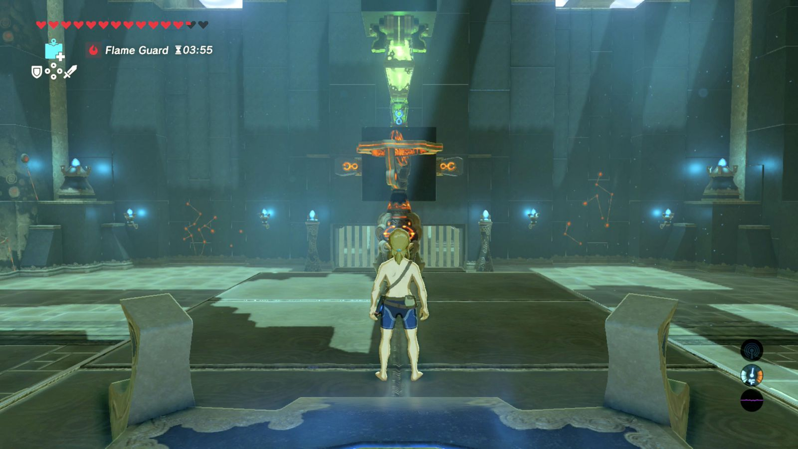 Zelda breath of the wild guide a test of will shrine for Bureau zelda