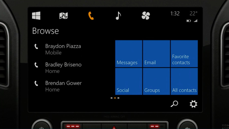 Uber Car Lease >> Microsoft unveils Windows in the car, battles Apple ...