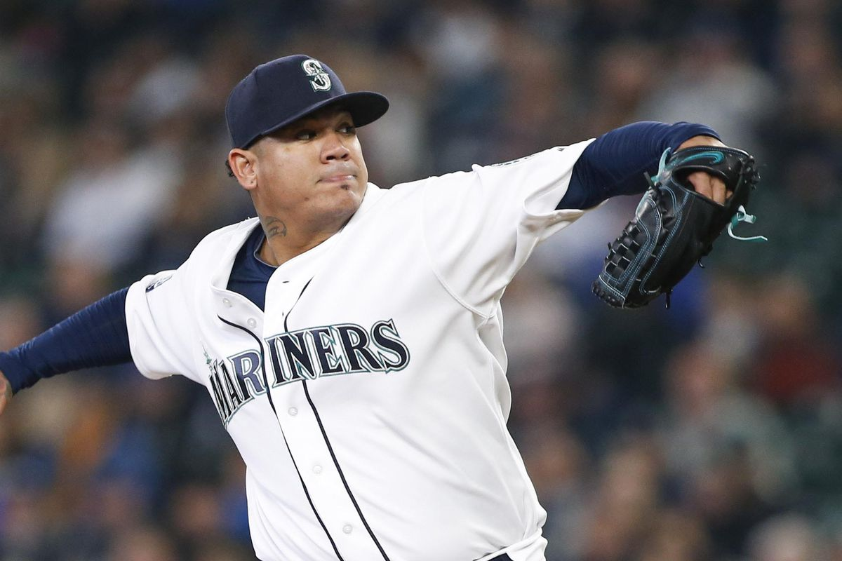 Mariners place Felix Hernandez (shoulder inflammation) on DL