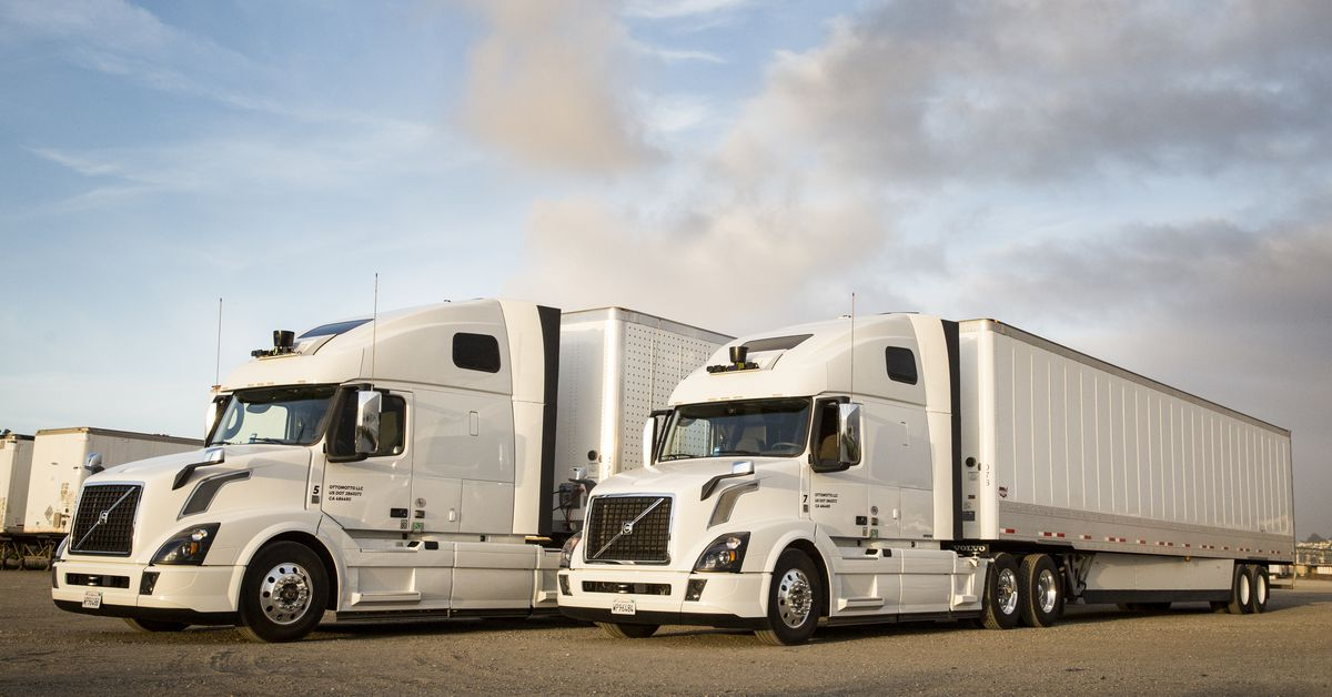 Uber's self-driving trucks have a new, fresh, Otto-less look