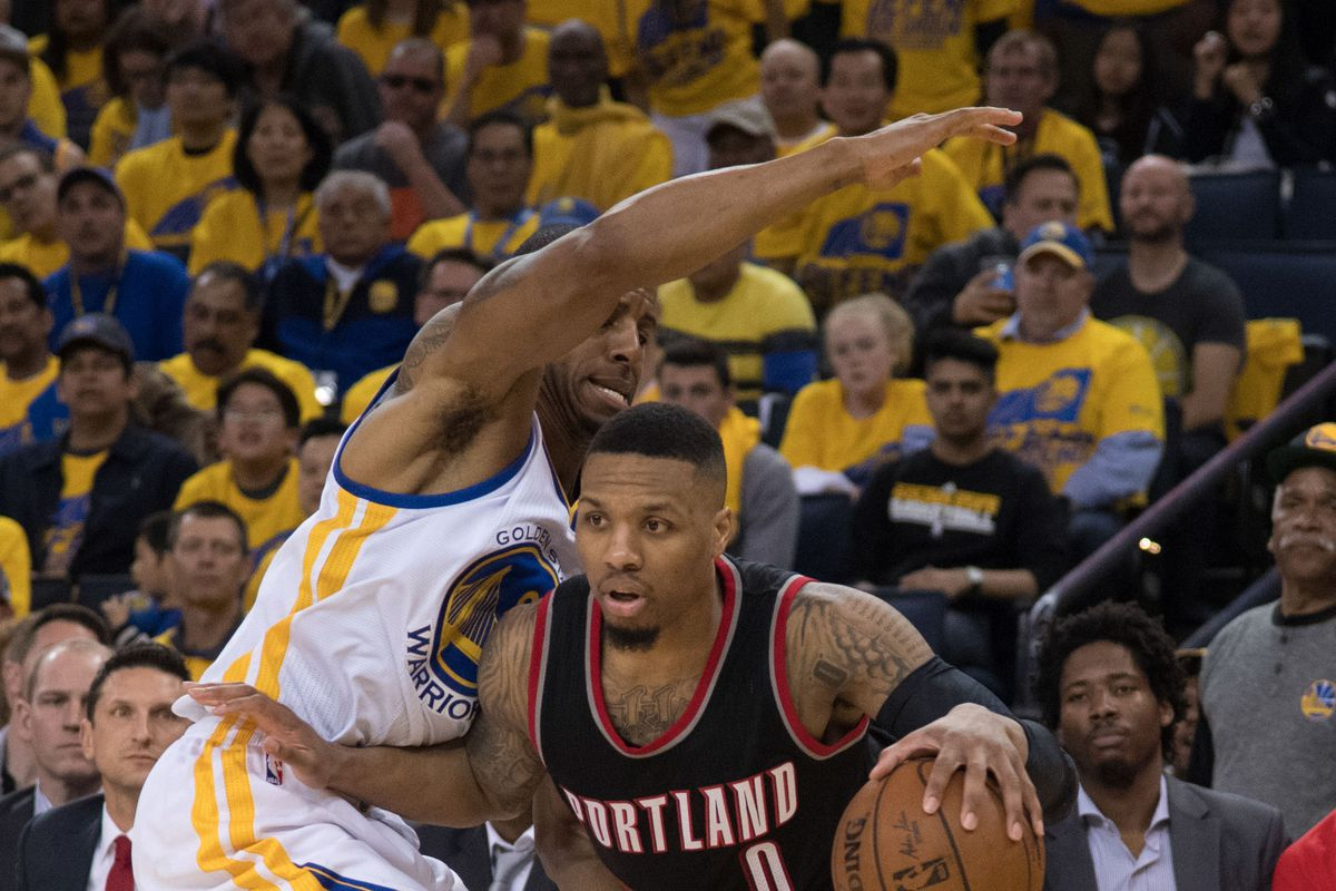 Warriors take 3-0 series lead over Blazers with 119-113 win