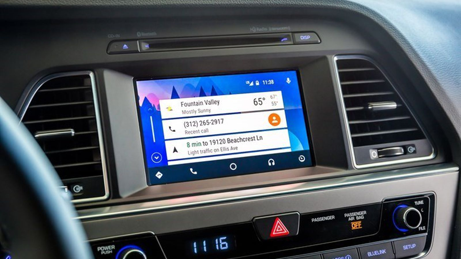 hyundai models are getting android auto and carplay with a. Black Bedroom Furniture Sets. Home Design Ideas