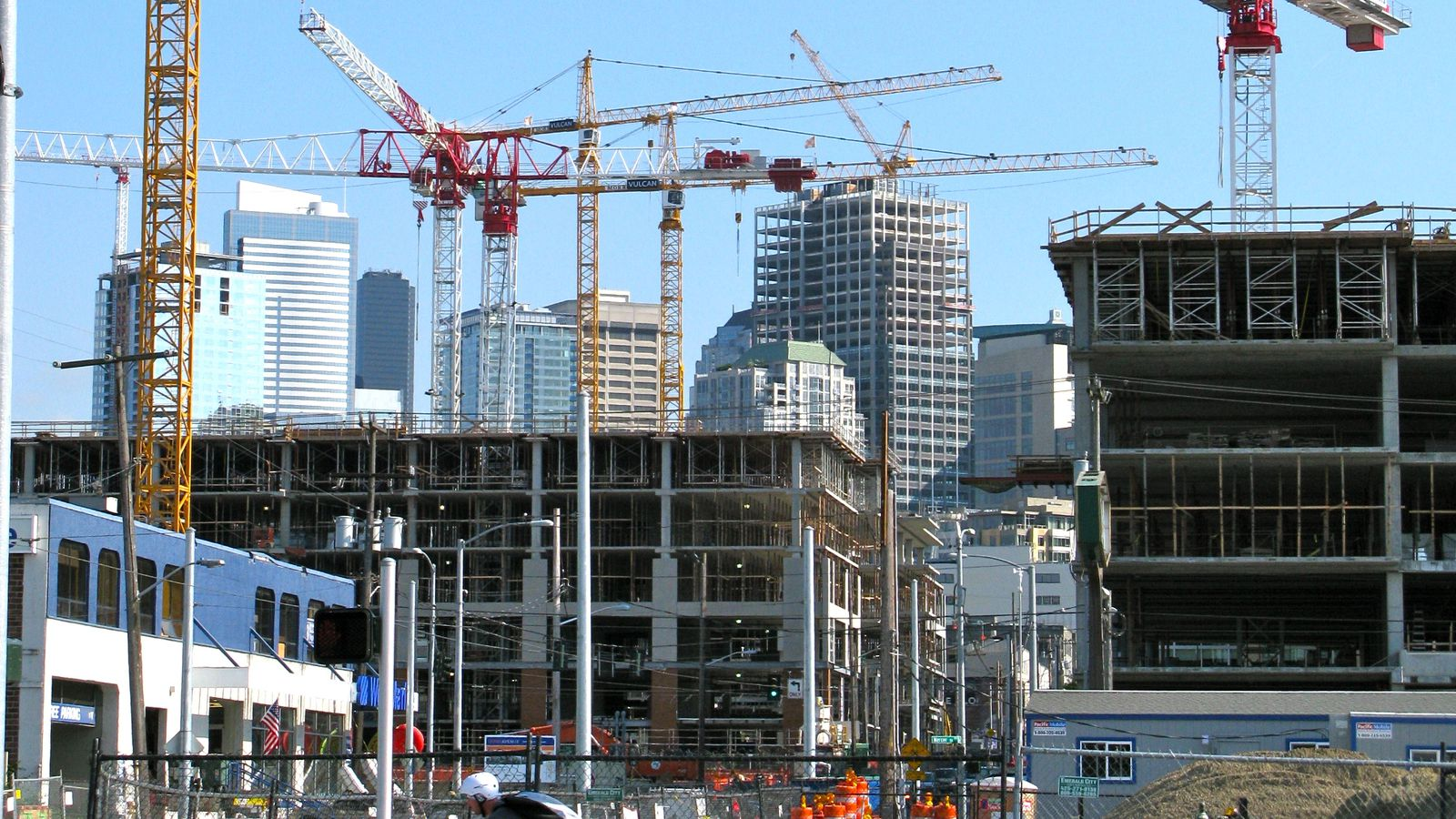 downtown seattle development had a record breaking 2016
