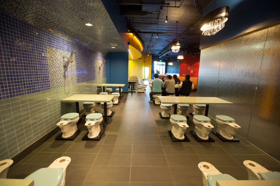 Outrageously Themed Magic Restroom Cafe Soft Opens