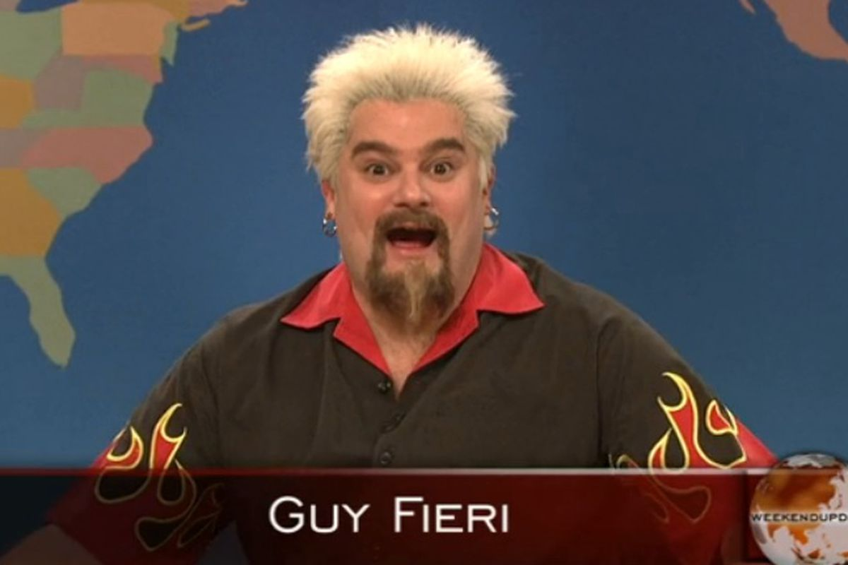 watch snl 39 s guy fieri segment that never aired eater