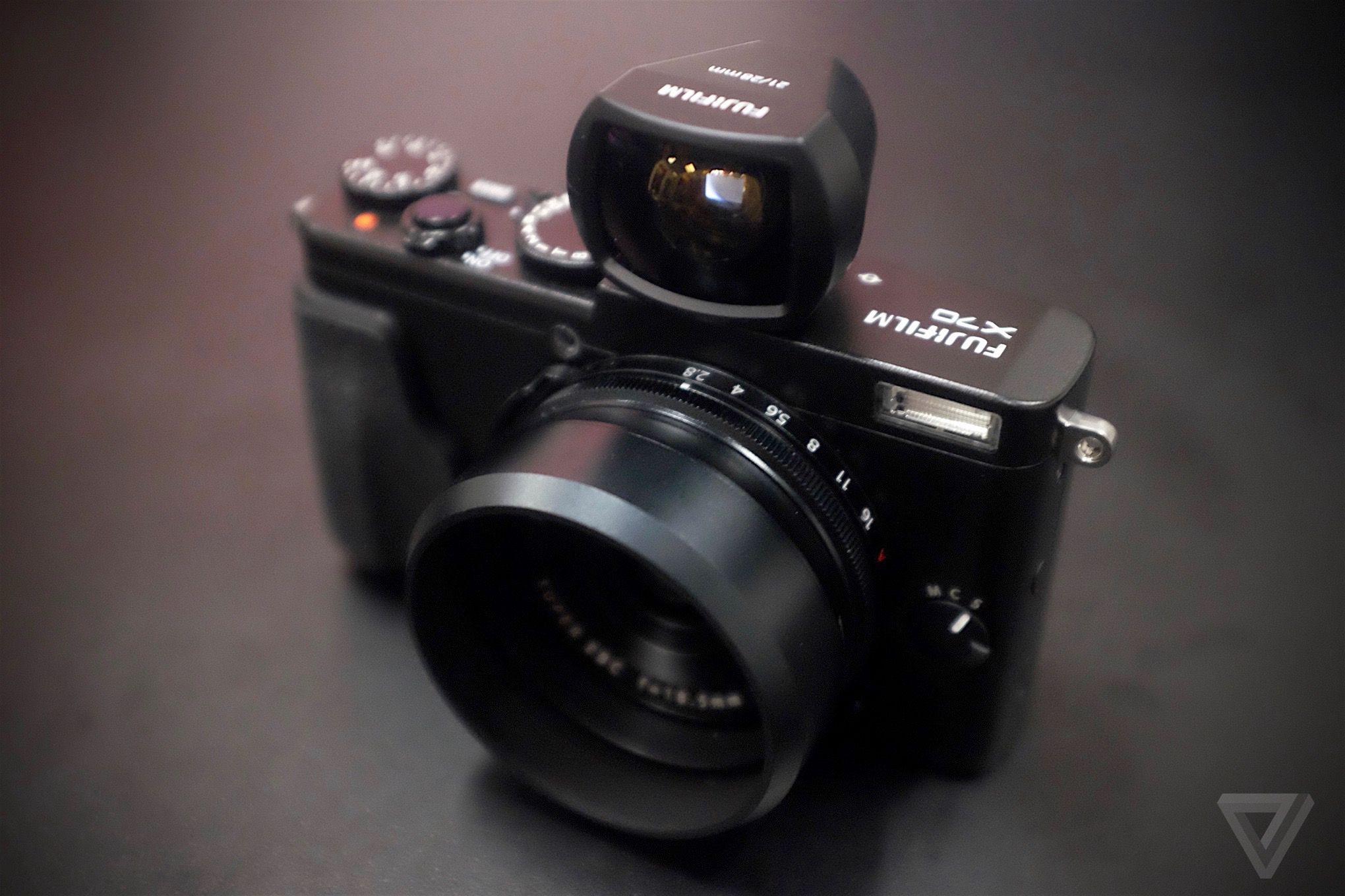 The Fujifilm X70 Is A Smaller Wider And Cheaper X100