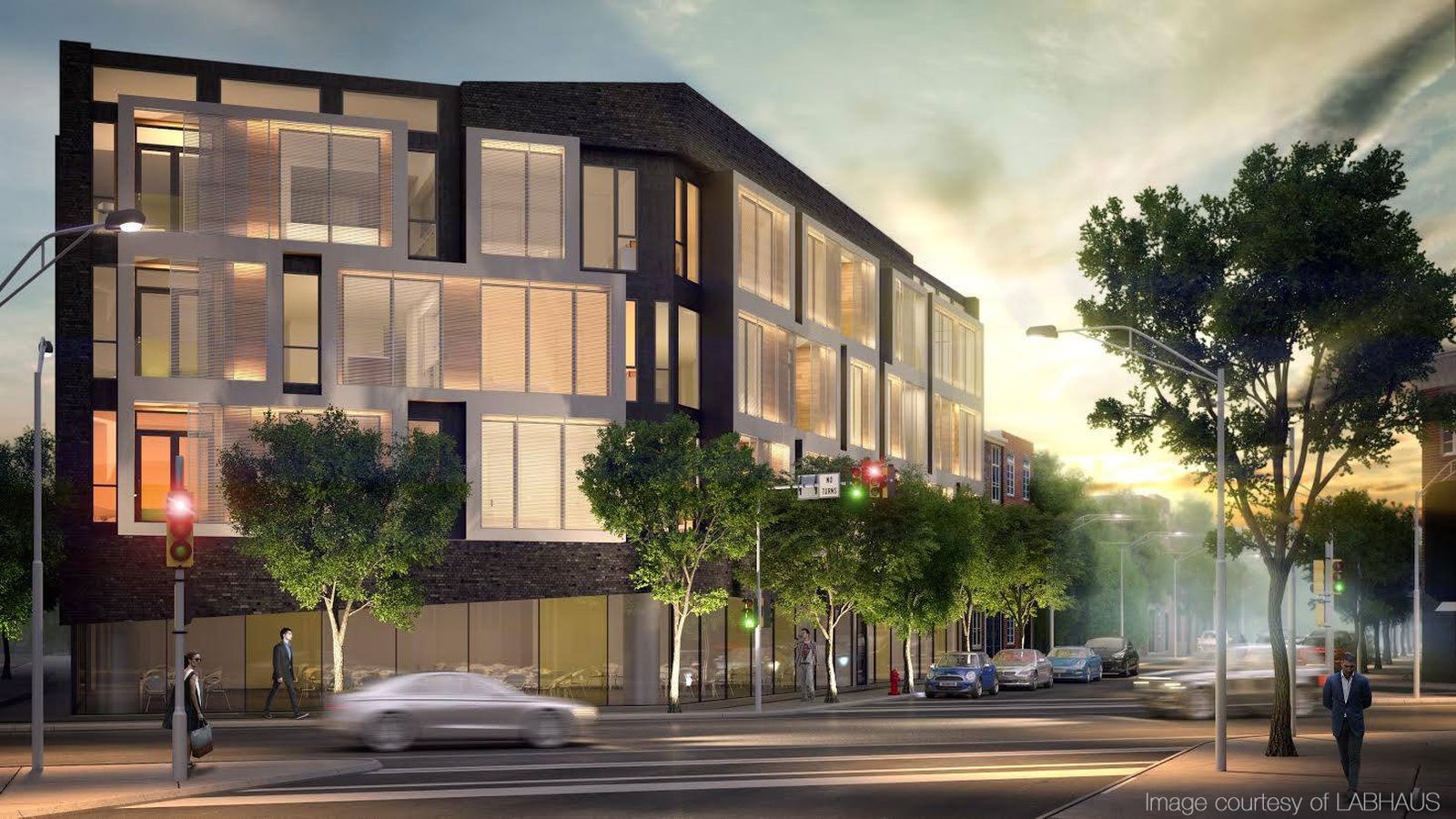 Modular Luxury Condo Building Drops In Graduate Hospital