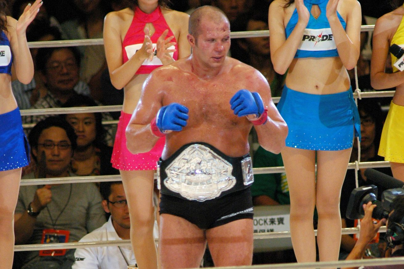Report: Fedor Emelianenko vs Fabio Maldonado booked for Rizin showdown on June 17