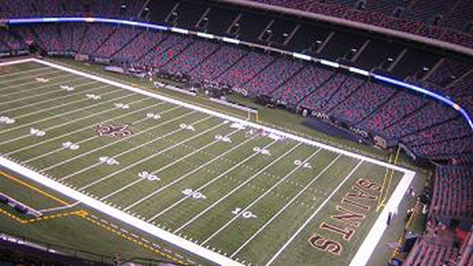 Your first look at the new mercedes benz superdome video for Where is the mercedes benz superdome