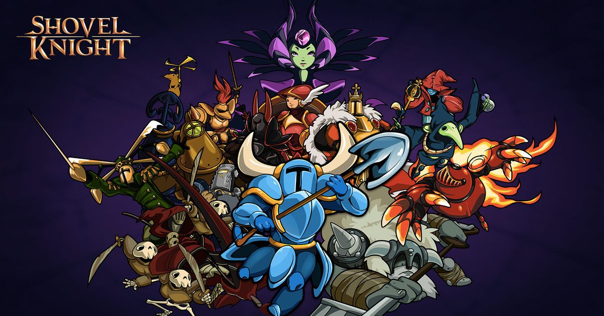 Shovel Knight gets a name change, new modes and a Switch release