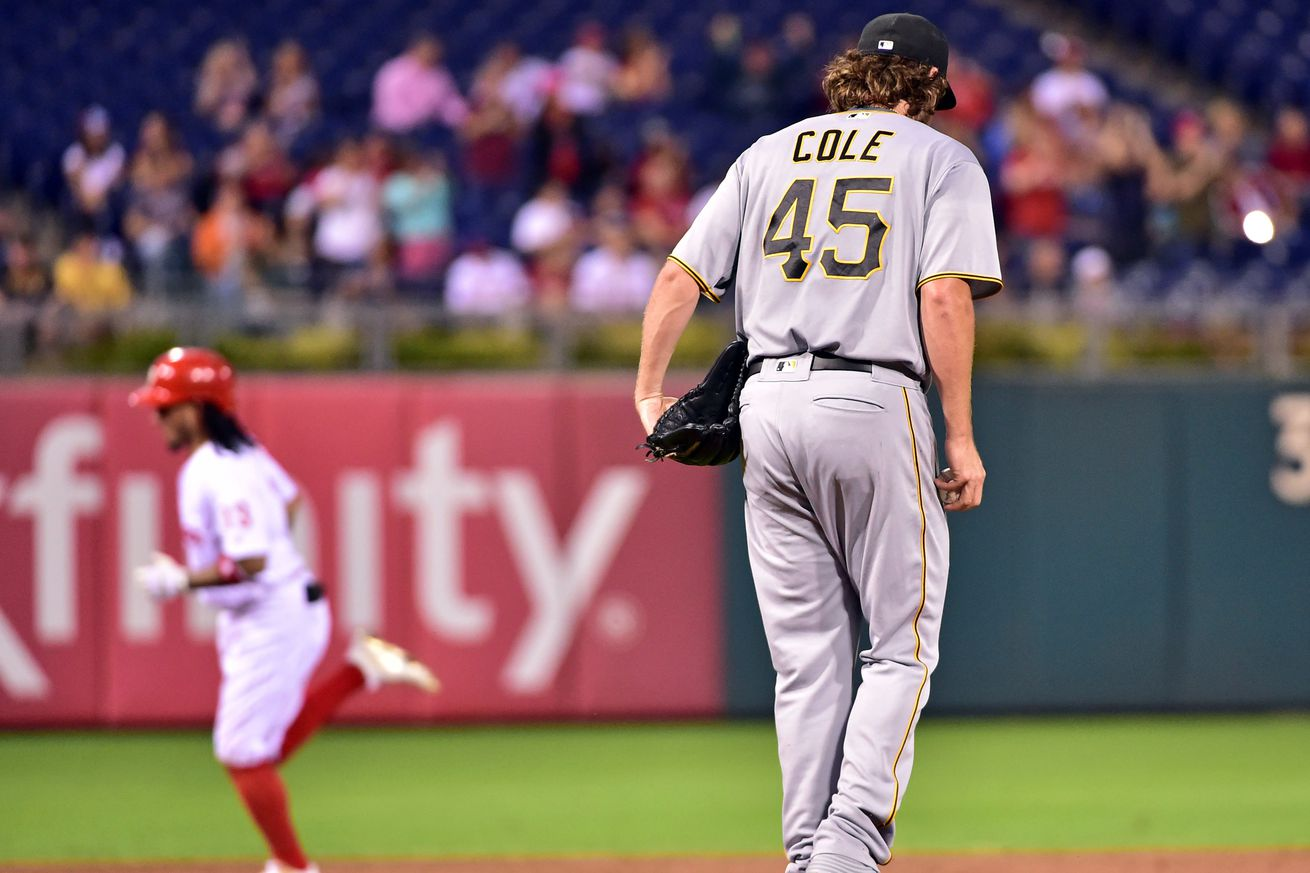 Gerrit Cole Done For Season