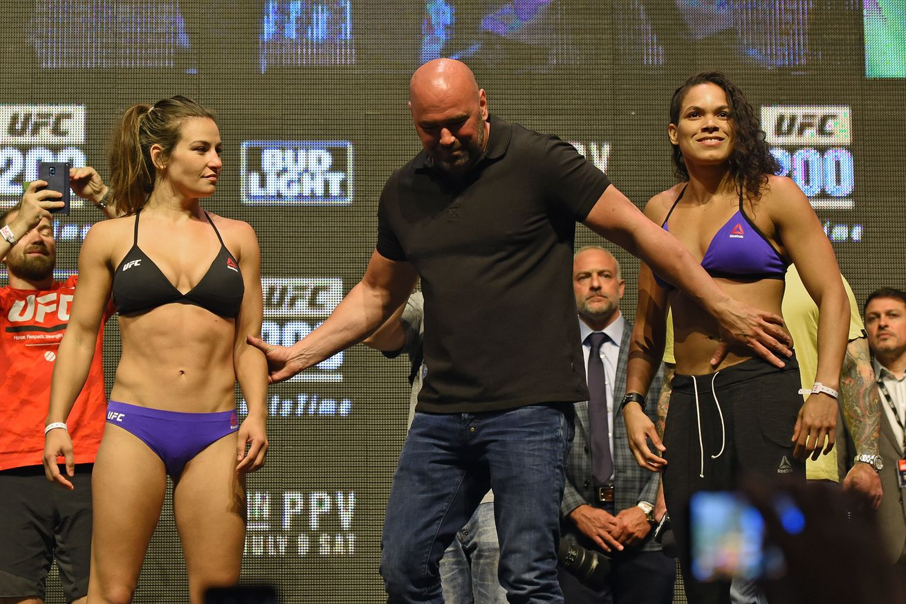 UFC 200 finalized fight card, bout order, TV schedule, and ...