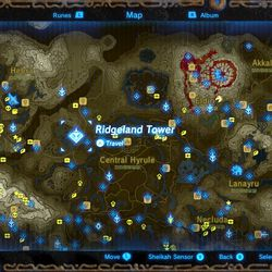 Zelda Breath Of The Wild Guide Trial Of Thunder Shrine