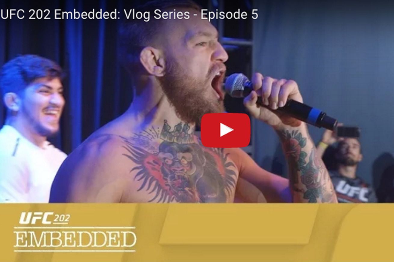 community news, UFC 202 Embedded video, Ep. 5: Conor McGregor loses his mind