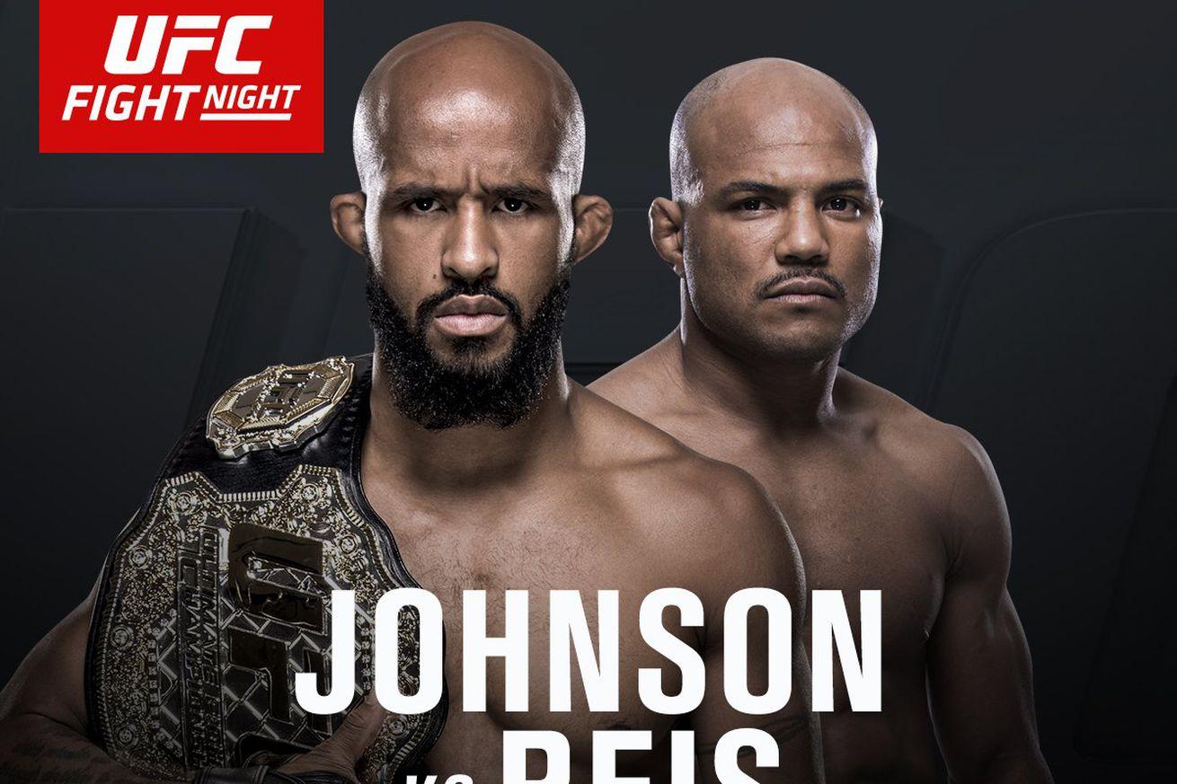 Latest UFC on FOX 24 fight card, rumors, and updates for Johnson vs Reis on April 15 in Kansas City