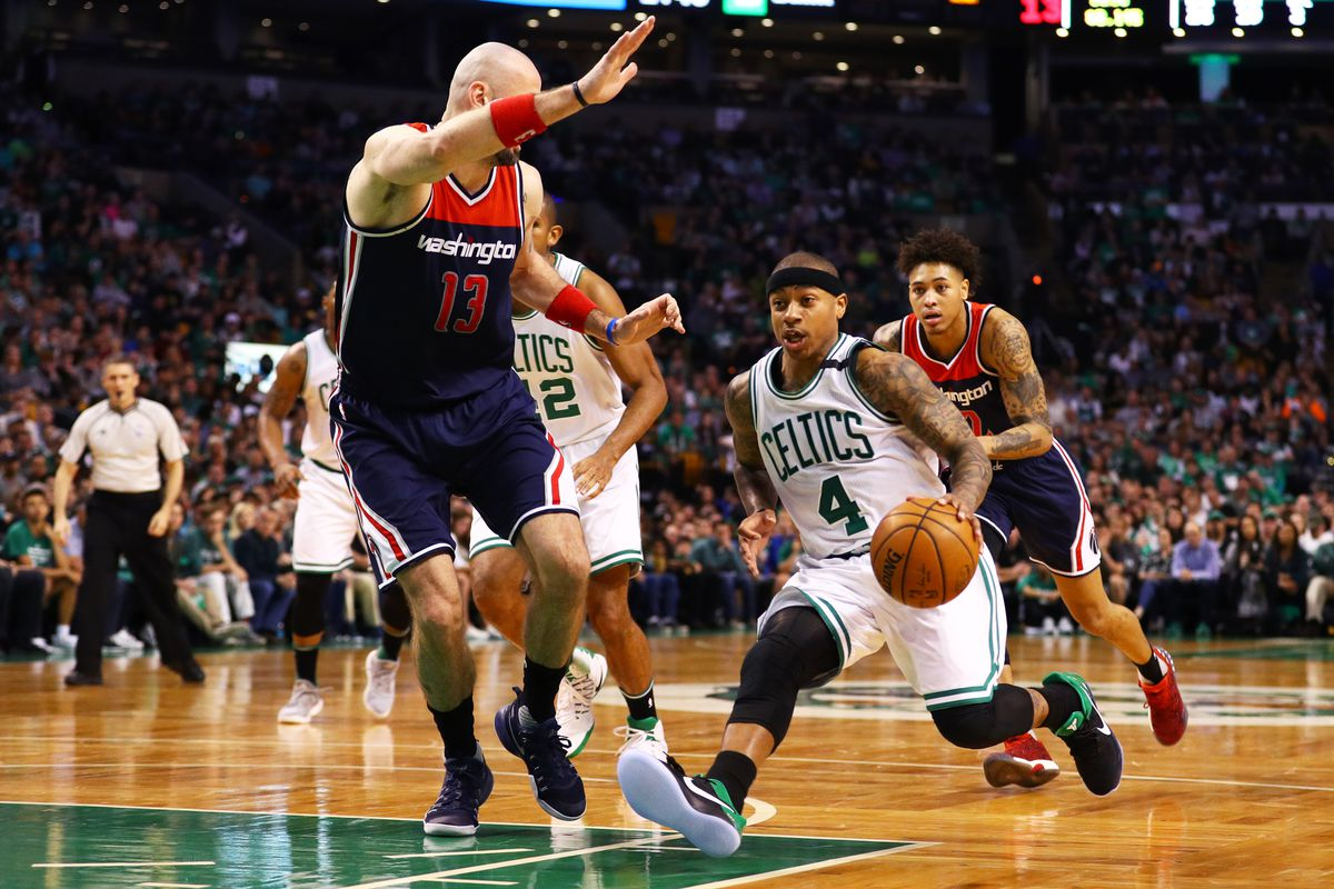 Thomas scores 53, Celtics beat Wizards 129-119 in OT