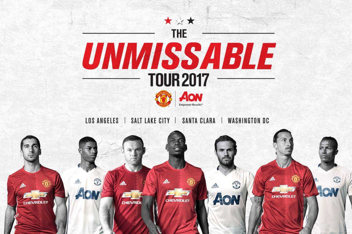 Manchester United confirm U.S. tour