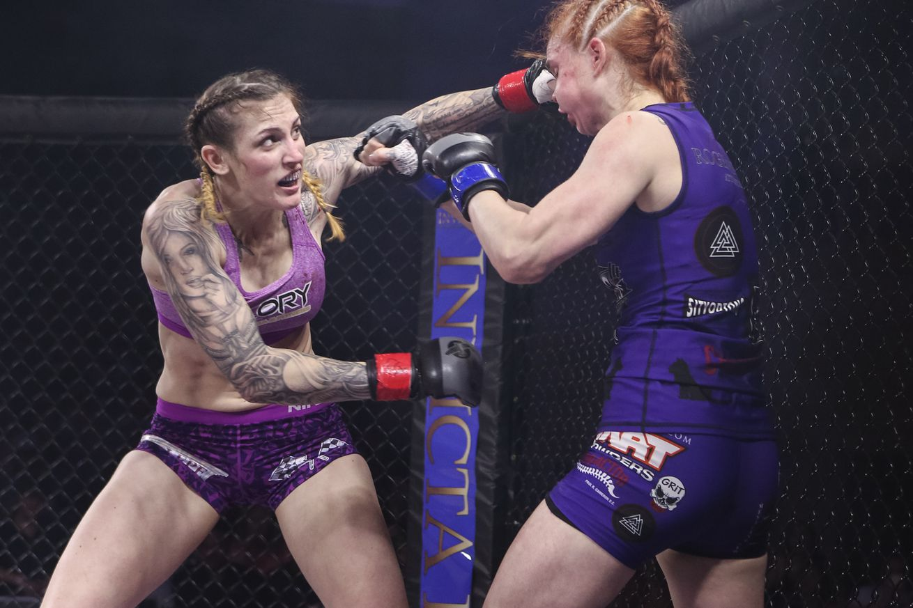 Megan Anderson vs. Charmaine Tweet at Invicta FC 21 now for interim featherweight title