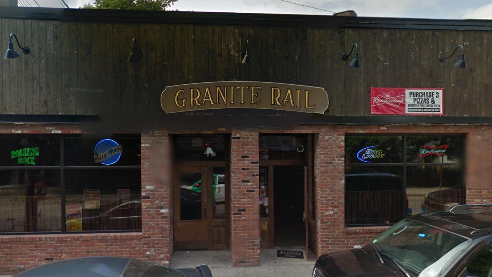 Quincy S Granite Rail Tavern Is Making Its Last Stop