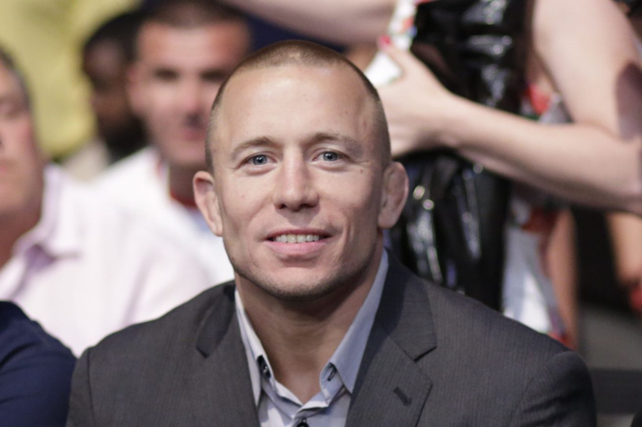 Georges St Pierre officially signs new contract with UFC