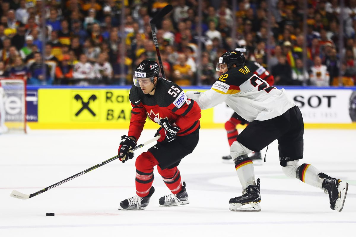Canada will play Russia in world championship semifinal with win over Germany