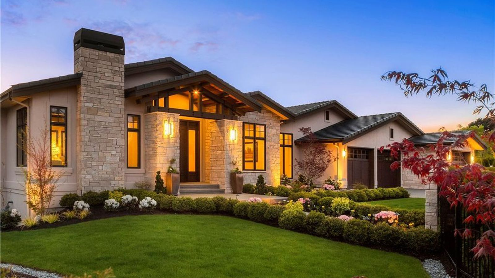 entertain in a gated estate in clyde hill curbed seattle
