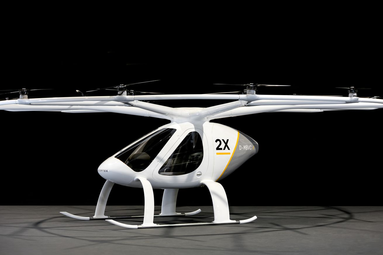 This 18-rotor electric 'flying taxi' will be buzzing overhead next year