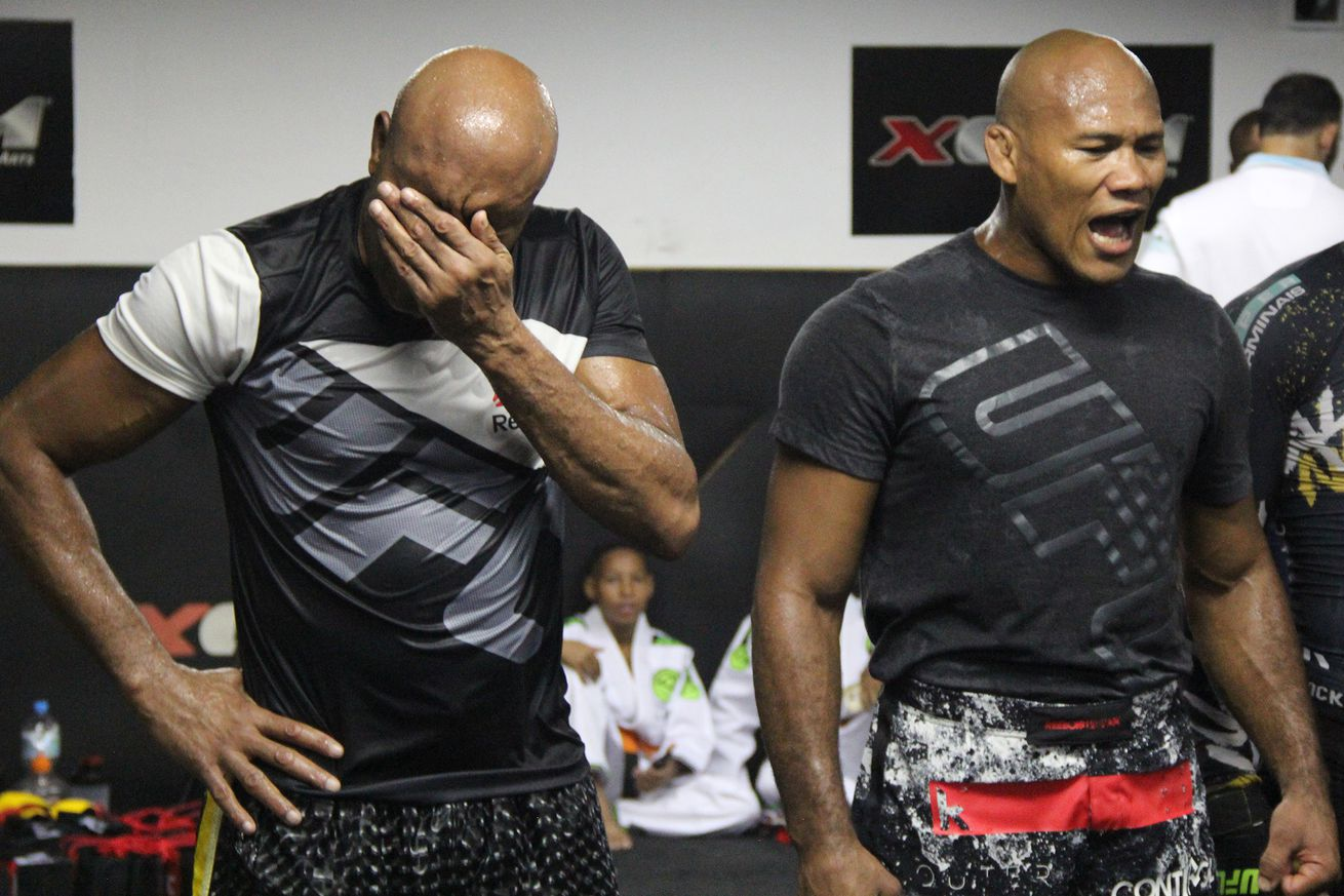 Jacare Souza admits hed be super upset if teammate Anderson Silva cuts the line and gets UFC title shot