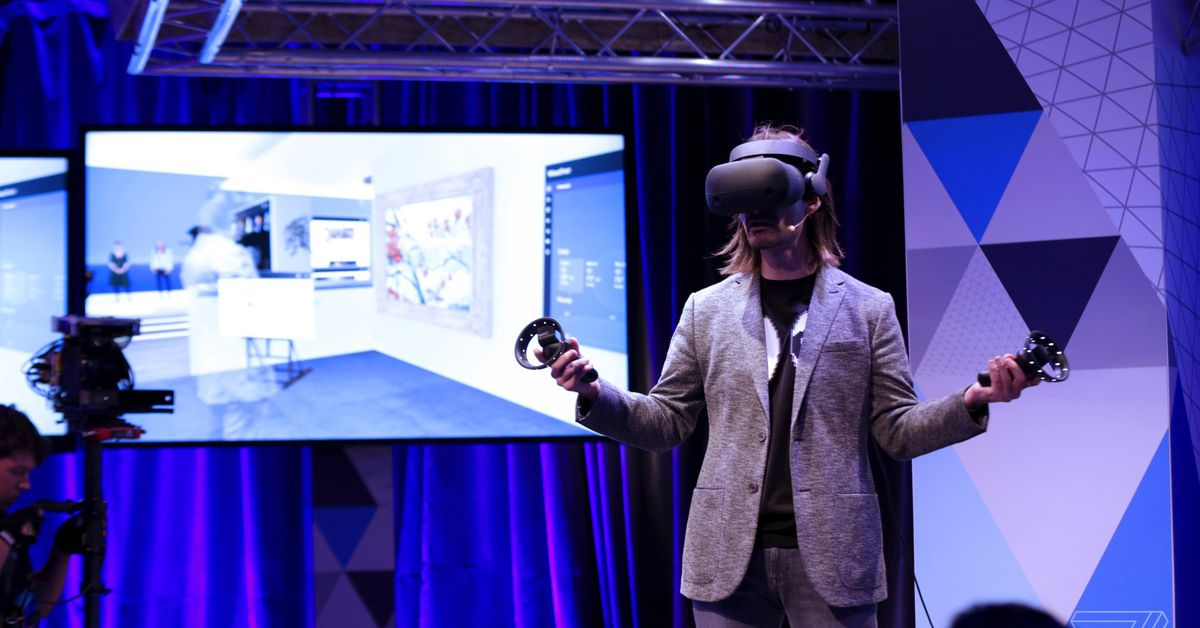Samsung's Windows Mixed Reality headset feels like an impressive Oculus Rift competitor