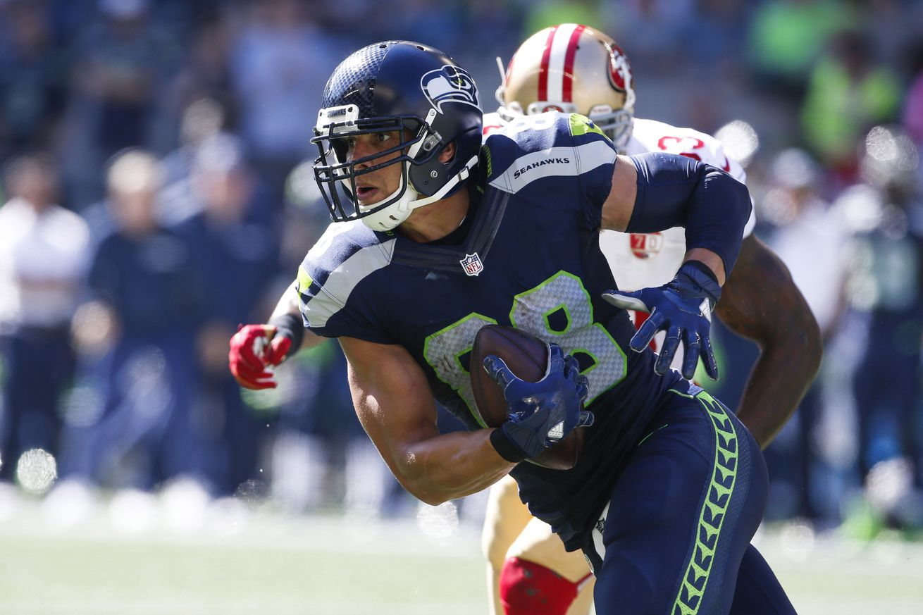 Jimmy Graham misses practice with new injury, to which I say, just f*%# me up, fam!
