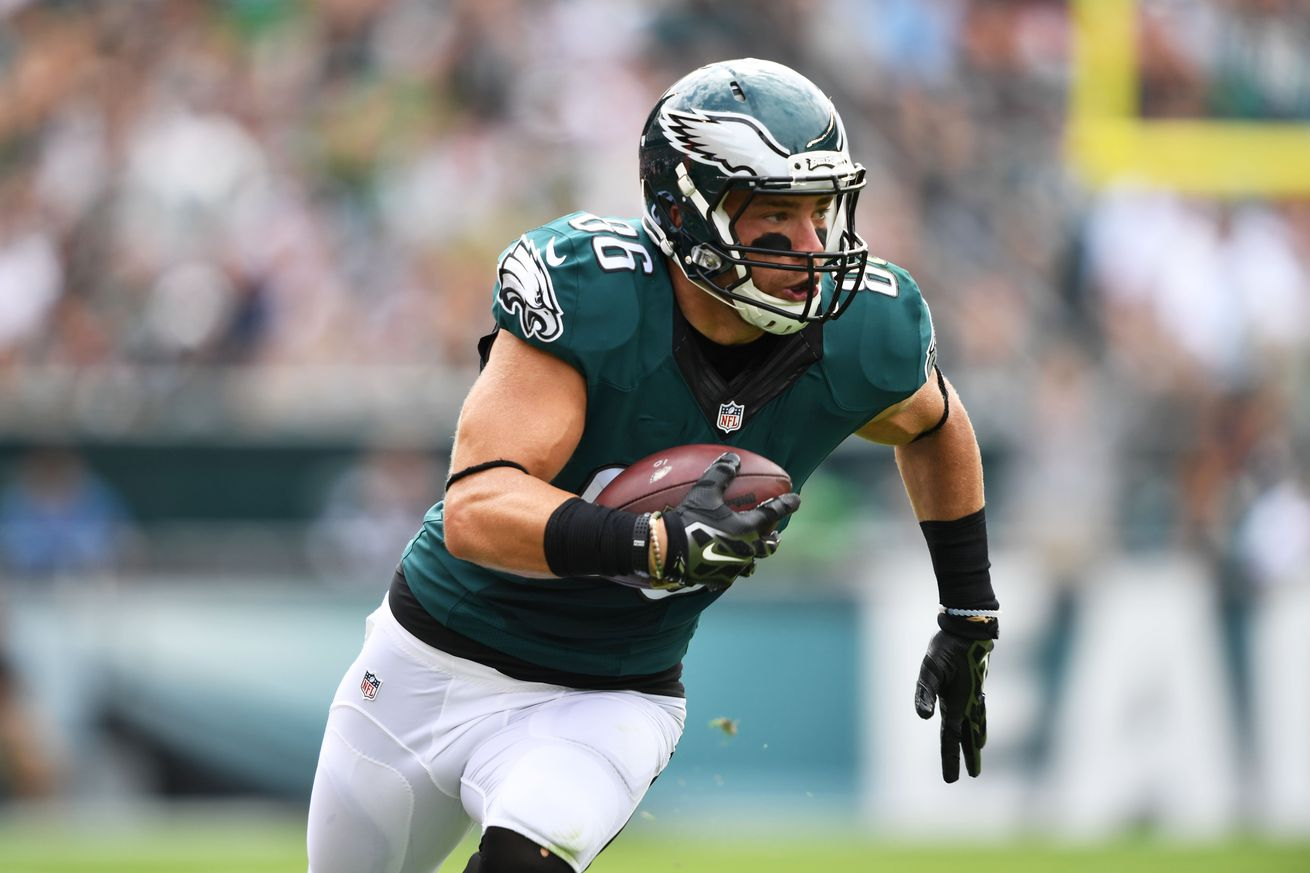 Ertz, McKelvin ruled out for the game