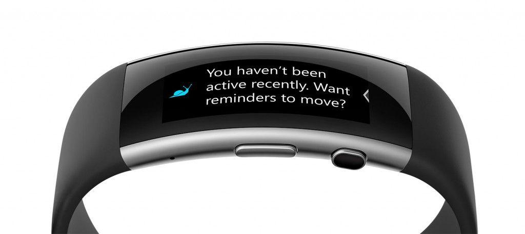 Microsoft Band movement reminder