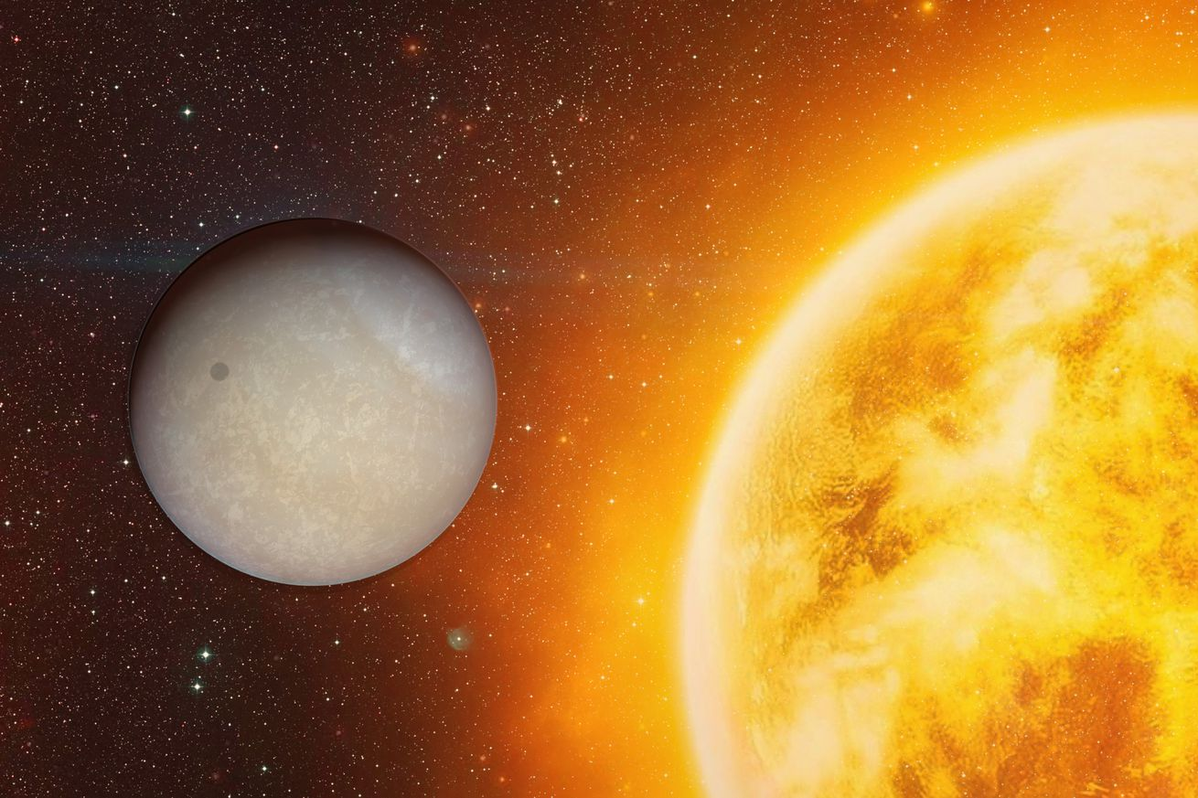 Water vapor found in the atmosphere of a hot, Neptune-sized planet