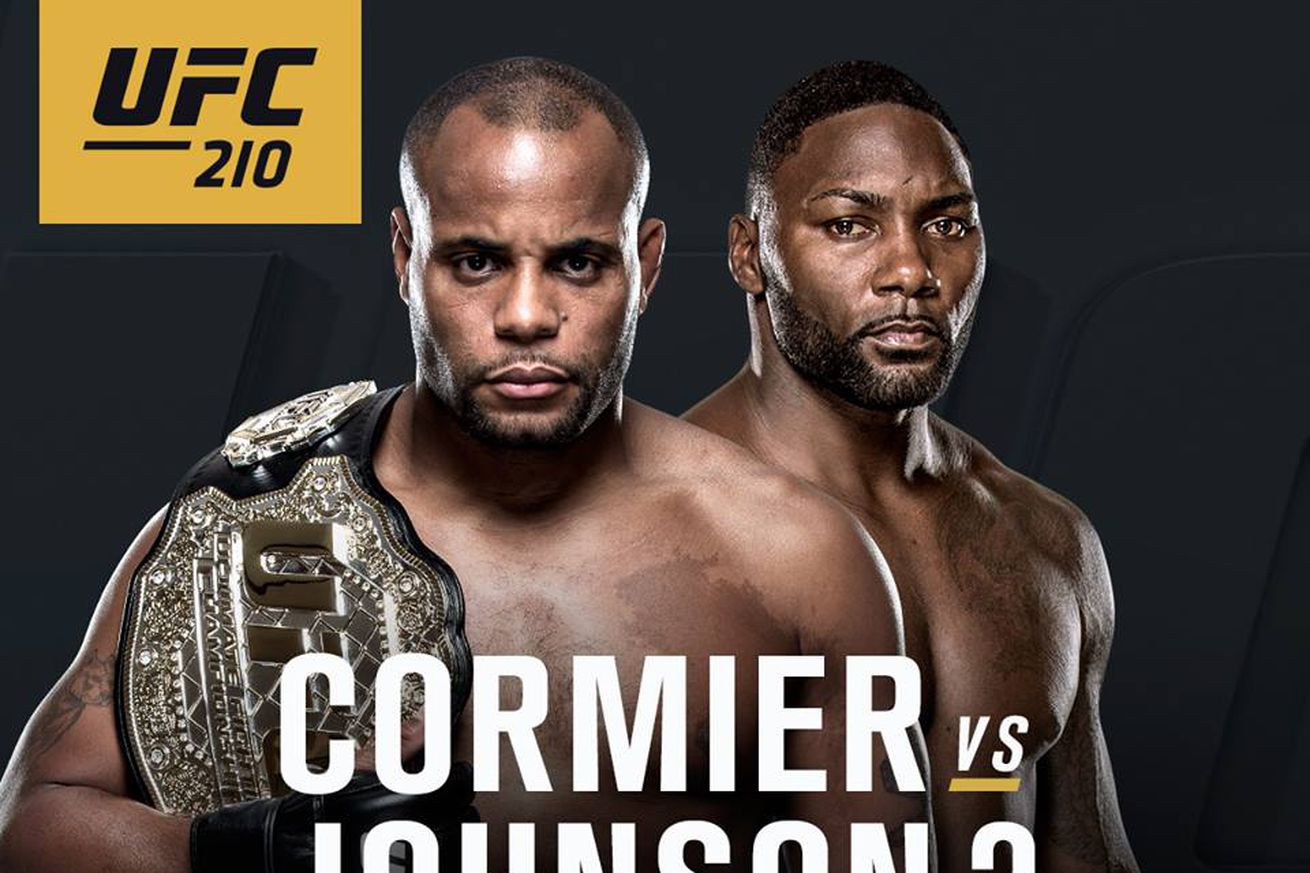 community news, Latest UFC 210 fight card, rumors for Cormier vs Johnson 2 on April 8 in Buffalo
