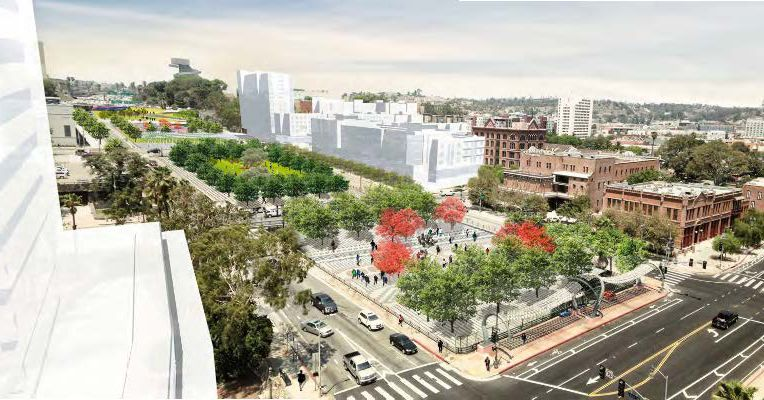 Freeways To Parks Update >> Plan to cap the 101 freeway in Downtown LA with a park moves forward - Curbed LA